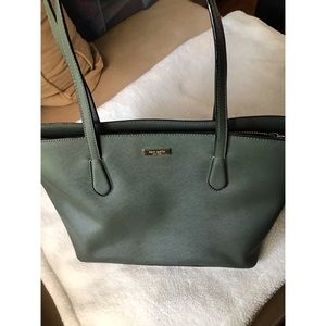 Kate Spade NY Jaymes Lauren Way leather tote